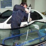 Установка лобового стекла